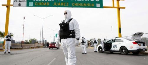 México: los controles COVID-19 caen en picada en los puestos de controles interestatales. - wfla.com