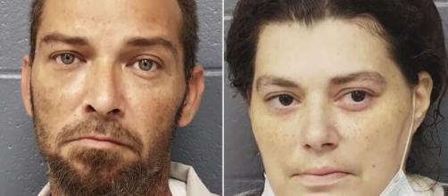 Pai e mãe da vítima. (Divulgação/Wilkinson County Sheriff Office)