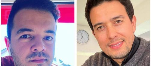 Thiago Salvático vence ex-marido na Justiça. (Fotomontagem)