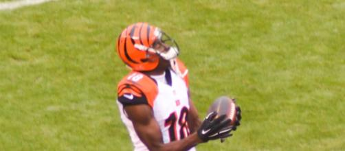 A.J. Green of the Cincinnati Bengals. [image source: Erik Daniel Drost-Flickr]