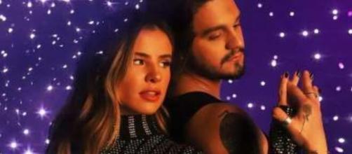 Giulia Be e Luan Santana lançaram a música 'Inesquecível' recentemente. (Foto: Instagram).