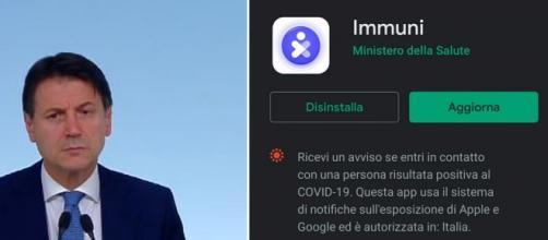 Giuseppe Conte punterebbe a obbligatorietà App Immuni.