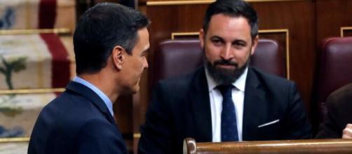 Iglesias y Sánchez finalmente participarán en las réplicas a la moción de censura de VOX