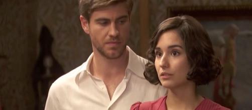 Il segreto, trame al 30 ottobre: Rosa è incinta, il popolo protesta contro Mauricio.