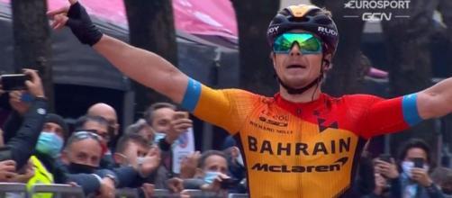 Jan Tratnik vincitore a San Daniele del Friuli.