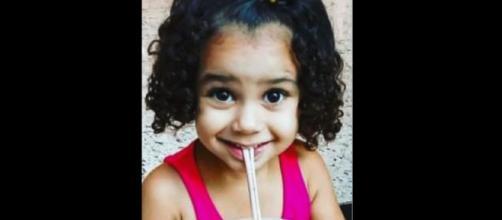 Menina de 5 anos morre vítima de violência e o padrasto é preso em flagrante. (Reprodução/TV Gazeta)