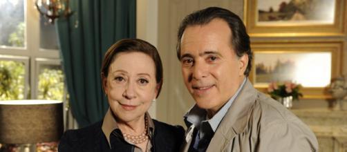 'Passione' contou com Fernanda Montenegro e Tony Ramos no elenco. (Reprodução/TV Globo)