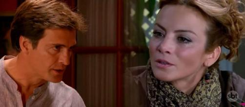 Renata pede o divórcio. (Divulgação/Televisa)