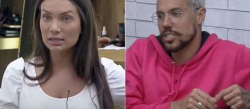 """Stéfani e Lipe revelam que levaram bronca em """"De Férias com Ex"""" por falta de pegação. (Fotomontagem)"""