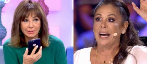 'El programa de Ana Rosa' recibió en vivo la llamada de una enojada Isabel Pantoja.