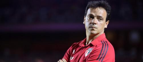 Fernando Diniz provavelmente não poderá contar com Hernanes e Luciano nos jogos decisivos com o São Paulo. (Arquivo Blasting News)