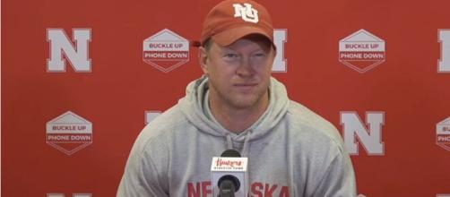 Frost speaks on facing Buckeyes in the first game, 'I don't think it's a coincidence.' [Image Source: Husker Online Video/ YouTube]