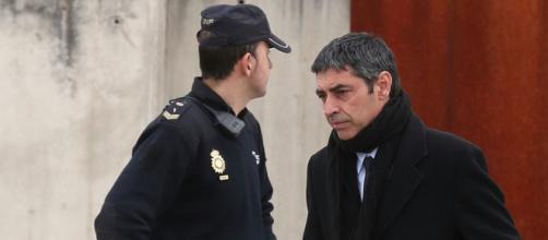Josep Lluís Trapero, durante el juicio a la antigua cúpula de los Mossos.