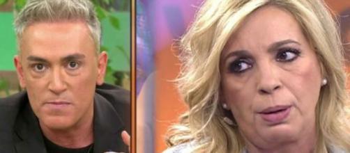 Kiko Hernández ha dicho que Carmen Borrego 'vende a su madre por dos duros'.