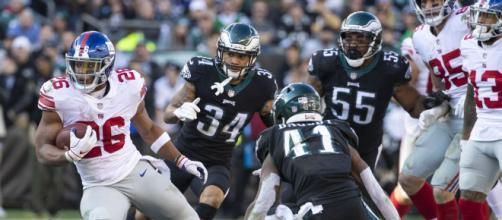 New York Giants e Philadelphia Eagles se enfrentam pela rodada da NFL. (Arquivo Blasting News)
