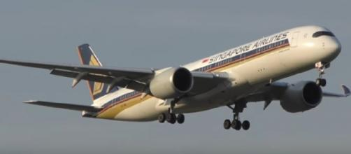 Singapore Airlines and the World's longest flight. [Image source/Dj's Aviation YouTube video]
