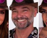 Mateus, Mirella e Luiza estão na roça de 'A Fazenda 12'. (Arquivo Blasting News)