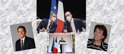 Conférence presse sur l'application de mesures du Jean Castex ce jeudi 22 octobre 2020