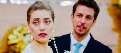 Daydreamer, spoiler turchi: Leyla sposa Emre, Mevkibe e Huma hanno un malore.