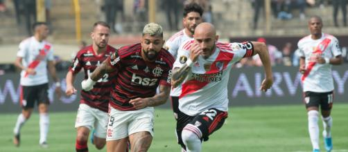 Finalistas em 2019, Flamengo e River Plate possuem os elencos mais caros das oitavas de final pela Libertadores. (Arquivo Blasting News)