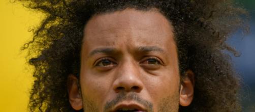 Marcelo, terzino sinistro del Real Madrid.