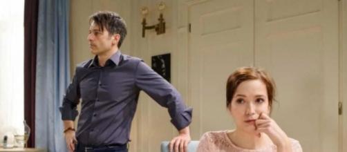 Spoiler Tempesta d'amore: Robert turbato da Eva.