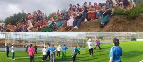 Une vidéo d'un match 100% féminin organisé par des femmes kabyles fait le buzz sur Twitter