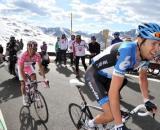Giro d'Italia: 19^ tappa ridotta con i primi 100 km percorsi in pullman.
