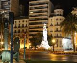 Plaza de Canalejas (Alicante), lugar donde Omar hirió a la pareja.