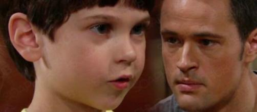 Beautiful, trama sabato 24/10: Thomas inveisce contro Douglas.