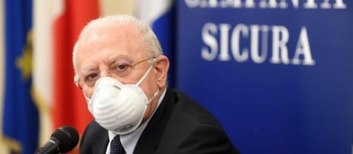 Covid Campania, De Luca richiede il lockdown in Campania