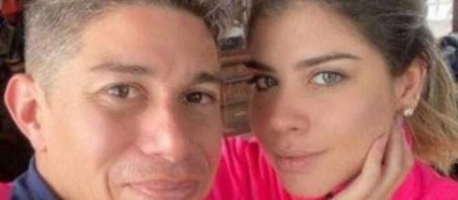 Dario Conca e Miriã Rocha tiveram um relacionamento abusivo, segundo a modelo. (Arquivo Blasting News)