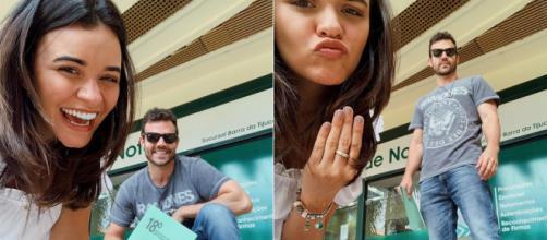 Ex-Malhação, Talita Younan se casa com João Gomez. (Reprodução/Instagram/@talitayounann)