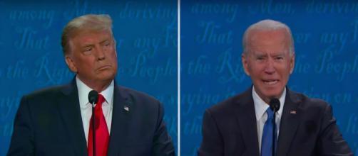 Les mensonges du débat présidentiel américain. ©Capture YouTube C-SPAN