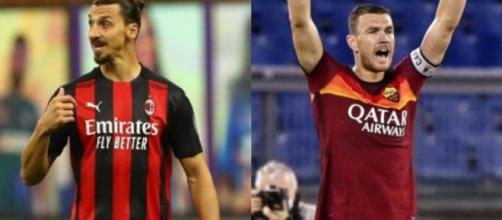 Milan-Roma, probabili formazioni: Ibrahimovic sfida Dzeko, Tonali in panchina.