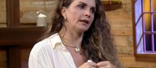 'Preferia ter sido planta e estar lá', disse Luiza Ambiel ao deixar 'A Fazenda 12'. (Arquivo Blasting News)