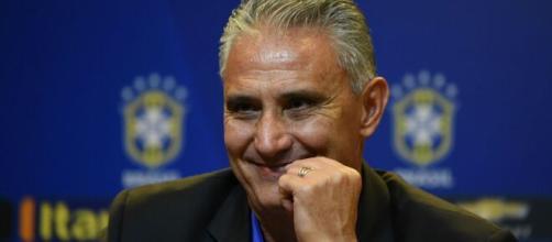 Tite chamou de volta a Seleção Brasileira, nomes como Gabriel Jesus e Vinicius Junior nas Eliminatórias. (Arquivo Blasting News)