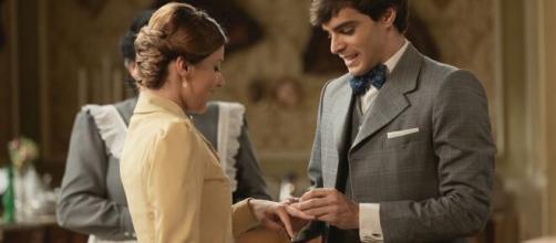 Una vita, spoiler Spagna: Emilio chiede ai Dominguez il permesso di sposare Cinta.