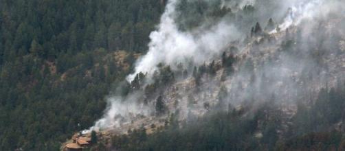 Los incendios de Colorado llegan a las Montañas Rocosas