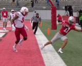 Ref and NCAA are slammed over targeting call against Huskers, disqualifying Deontai Williams. [Image Source: Big Ten Network/ YouTube]