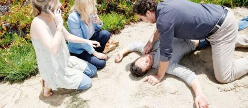 Beautiful, spoiler 26-10: Thomas cade dal dirupo, Ridge crede che sia morto.