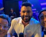 Gusttavo Lima marca presença em festa. (Reprodução/Instagram)