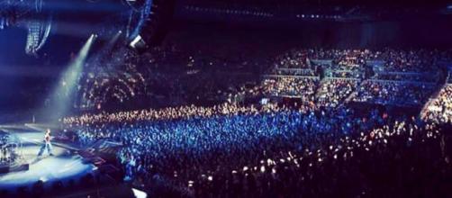 El estadio de Spark en Aukland, Nueva Zelanda, donde ocurrió un masivo recital sin mascarillas.