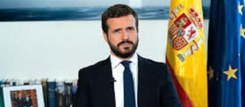 El presidente del PP, Pablo Casado, ha propuesto un estado de alarma de 8 semanas frente a los seis meses reclamado por el gobierno