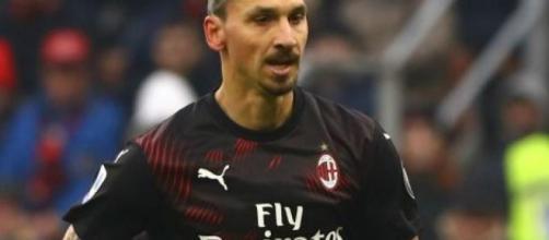 Ibrahimovic dovrebbe partire titolare contro la Roma.
