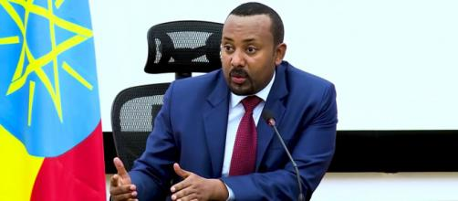 In Ethopia, Prime Minister Abiy Ahmed declared a state of emergency in Tigray. [Image Source: Office of the Prime Minister - Ethiopia/YouTube]