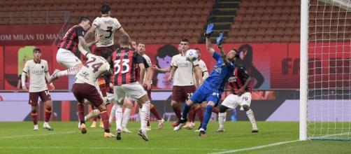 Milan Roma, succede di tutto e finisce in parità. Foto di acmilan.com