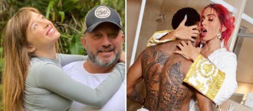 Nego do Borel reagiu as críticas do sogro em suas redes sociais. (Fotomontagem)