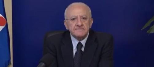 Vincenzo De Luca, governatore della Campania.