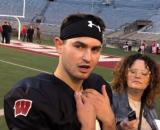 Huskers vs Wisconsin game in jeopardy, now QB Chase Wolf test positive for Covid 19. [Image Source: Bucky's 5th Quarter/ YouTube Screenshot]